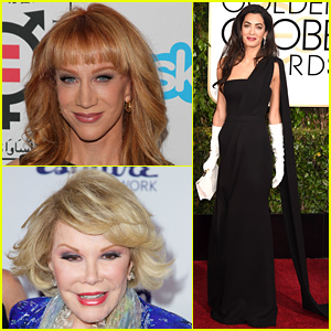 Kathy Griffin's 'Fashion Police' Debut: Shouts Out Joan Rivers, Names Amal Clooney Her Worst Dressed - Watch Now!