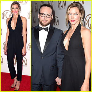 Katie Cassidy & Dana Brunetti Hold Hands at PGA Awards 2015