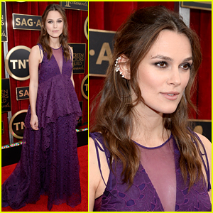 Keira Knightley Dishes on Pregnancy Style at SAG Awards 2015