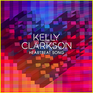 Kelly Clarkson Reveals 'Heartbeat Song' Cover Art!