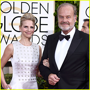 Kelsey Grammer & Wife Kayte Walsh Dress Up For Golden Globes 2015