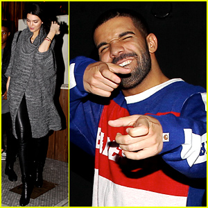 Kendall Jenner Reportedly Hangs Out with Drake at a Celeb Hotspot