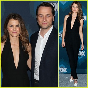 Keri Russell & Matthew Rhys Couple Up for Fox All-Star Party