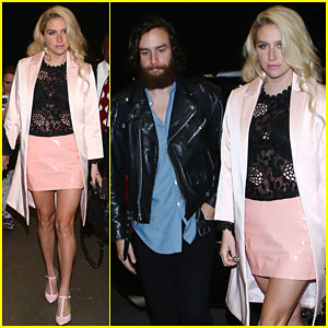 Kesha Makes Her Way to Brazil with Boyfriend Brad Ashenfelter