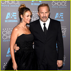 Kevin Costner Brings His Wife to Critics' Choice Awards 2015