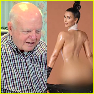 Kim Kardashian's Naked Body Gets Hilarious Reactions From Elders - Watch Now!