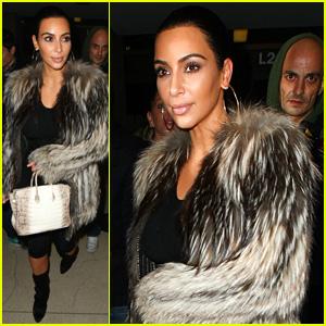 Kim Kardashian Heads Back to NYC For Just a Few Hours