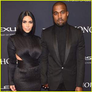 Kim Kardashian Supports Kanye West at BET Honors 2015
