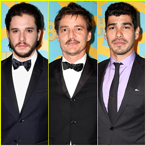 Kit Harington, Pedro Pascal, & More Make It A Stud Fest at HBO's Golden Globes After Party 2015