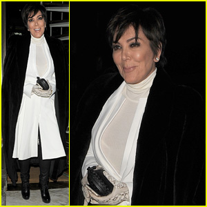 Kris Jenner Misses Cue While Presenting at British National Television Awards 2015 (Video)