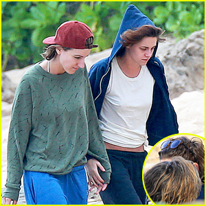 Kristen Stewart & Alicia Cargile Hold Hands on Hawaii Vacation