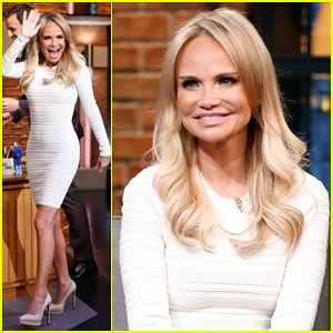 Kristin Chenoweth Talks Returning to Broadway for 'On The 20th Century' on 'Late Night' - Watch Here!