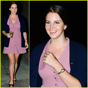 Lana Del Rey Gets Back to the Studio After Hitting Up Sundance