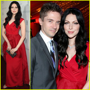Laura Prepon & Topher Grace Create 'That 70s' Reunion at Art of Elysium Heaven Gala 2015