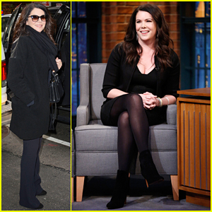 Lauren Graham Talks Series Finale of 'Parenthood' on 'Late Night' - Watch Here!