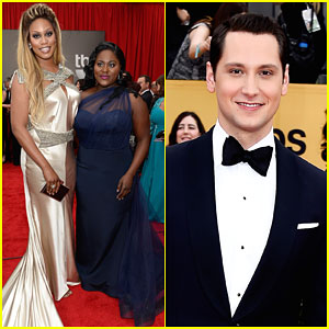 Laverne Cox & Matt McGorry Are Picture Perfect Presenters at SAG Awards 2015