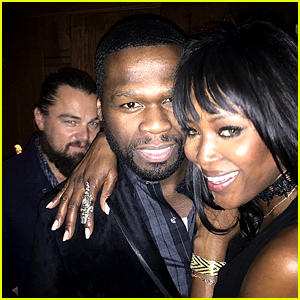 Leonardo DiCaprio Photobombed 50 Cent at a Pre-Globes Party!