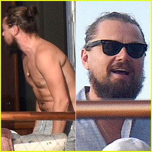 Leonardo DiCaprio Spent New Year's Day with Tons of Hot Girls