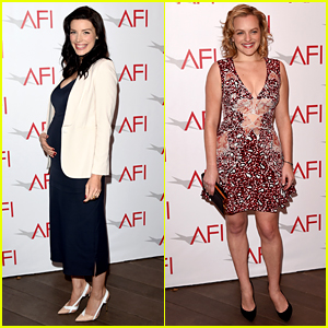 Mad Men's Jessica Pare Shows Off Baby Bump at AFI Awards