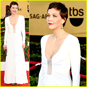 Maggie Gyllenhaal Is Hot 'Honourable' Nominee at SAG Awards 2015
