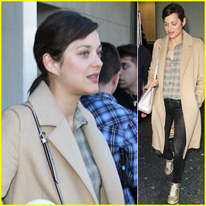 Marion Cotillard Makes Her Way Back to Los Angeles
