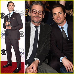Matt Bomer Thanks His Fans & Husband Simon Halls For Their Support at People's Choice Awards 2015 - Watch Here!