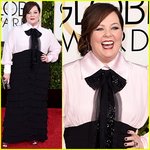 Melissa McCarthy Hits Golden Globes 2015 Amid 'Ghostbusters' Rumors!