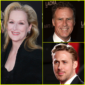 Meryl Streep Has a Crush on Will Ferrell Because He's a 'Man,' Can't Crush on Ryan Gosling Because He's a 'Child'