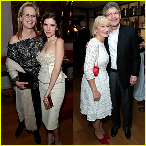 Meryl Streep & Helen Mirren Celebrate Globes Noms with Disney