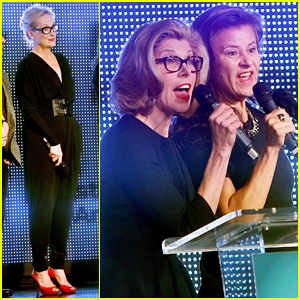 Meryl Streep & 'Into The Woods' Ladies Honor Director Rob Marshall at Artios Awards 2015!