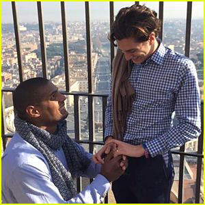 Michael Sam Proposed to Vito Cammisano at the Vatican! (Photo)