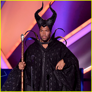 Michael Strahan Dresses as Maleficent, Angelina Jolie Loves It!