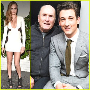 Miles Teller & Cara Delevingne Celebrate The Golden Globes with W Magazine