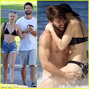 Miley Cyrus Flaunts PDA with Patrick Schwarzenegger in Hawaii