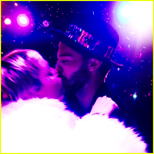Miley Cyrus Kisses Patrick Schwarzenegger at Midnight! (Photo)