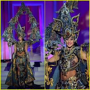 Miss Indonesia's Elvira Devinamira Awarded Best Costume For Her Awesome Look at Miss Universe 2015!