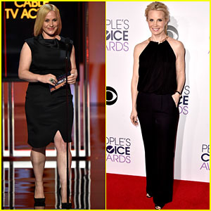 Patricia Arquette & Monica Potter Show Blondes Have More Fun at People's Choice Awards 2015