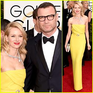 Naomi Watts & Liev Schreiber Are One Hot Golden Globes Pair!