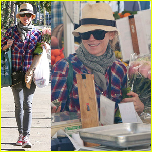 Naomi Watts Goes Undercover at the Farmers Market