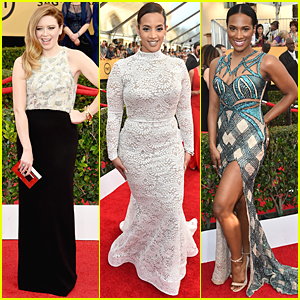 Natasha Lyonne & 'Orange is the New Black' Cast Swap Prison Uniforms For Classy Ensembles at SAG Awards 2015