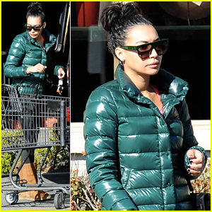 Naya Rivera Picks Up NYE Supplies Before 'Glee' Premiere