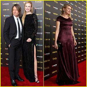 Nicole Kidman & Keith Urban Look So In Love at the G'Day Gala