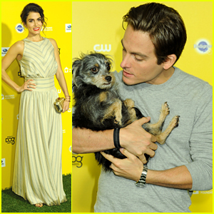 Kevin Zegers & Nugget Hit World Dog Awards with Nikki Reed