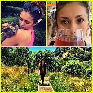 Nina Dobrev Looks Like She's Having a Blast On Her New Zealand Vacation!