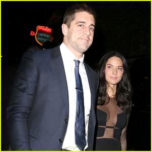 Olivia Munn Brings Quarterback Boyfriend Aaron Rodgers to 'Mortdecai' Party