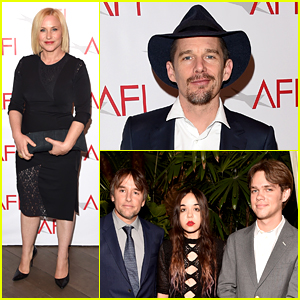 Patricia Arquette & Ethan Hawke Honor 'Boyhood' at AFI Awards