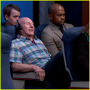 Patrick Stewart Acts Out the Most Annoying People on the Plane