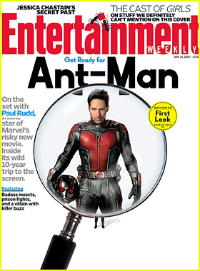Paul Rudd Becomes 'Ant-Man' on 'Entertainment Weekly' Cover