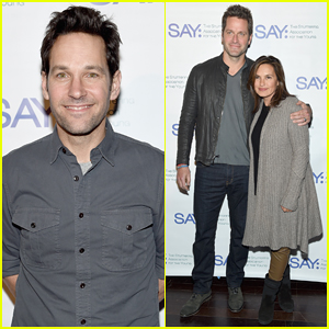 Paul Rudd Hosts Third Annual All-Star Bowling Benefit with Mariska Hargitay & Hubby Peter Hermann!