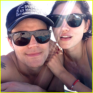 Paul Wesley Goes Shirtless in Beach Photo with Phoebe Tonkin